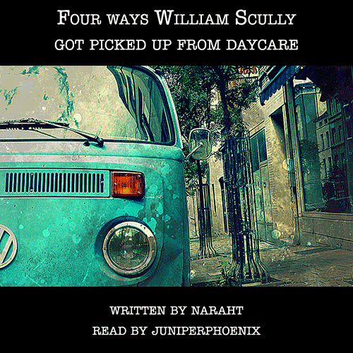 Cover art of a teal VW microbus parked on a pleasant street